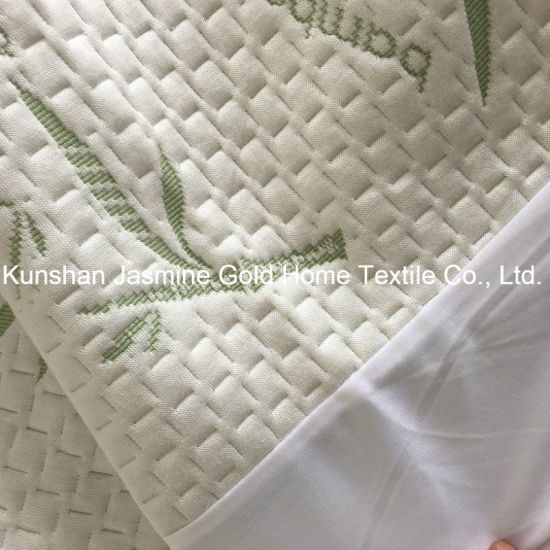 BSCI Factory 250GSM Bamboo Jacquard Fabric with TPU Waterproof Mattress Protector