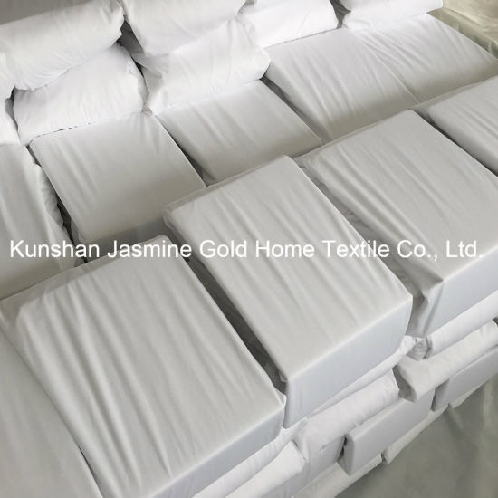 105GSM 100% Polyester knitted Fabric Waterproof Mattress Protector