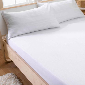King Size 100% Waterproof Cotton Terry Surface Mattress Cover