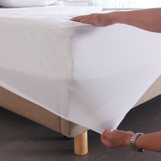 Premium Noiseless Waterproof Mattress Protector-Full Size