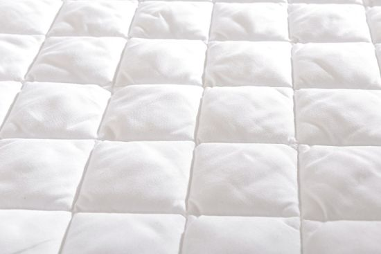 Queen Size Hypoallergenic Overfilled Microplush Mattress Protector