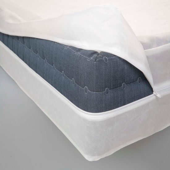 Manufacturers Hot Sale Polyester Quilted Mattress Protector Non-Woven Encasement/Boxspring