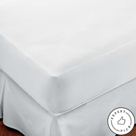 Knitted Fabric Laminated TPU Waterproof Mattress Protector for Hotel/Hospital
