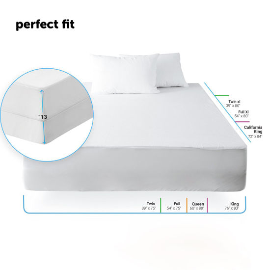 70% Cotton 30% Polyester Waterproof Mattress Protector