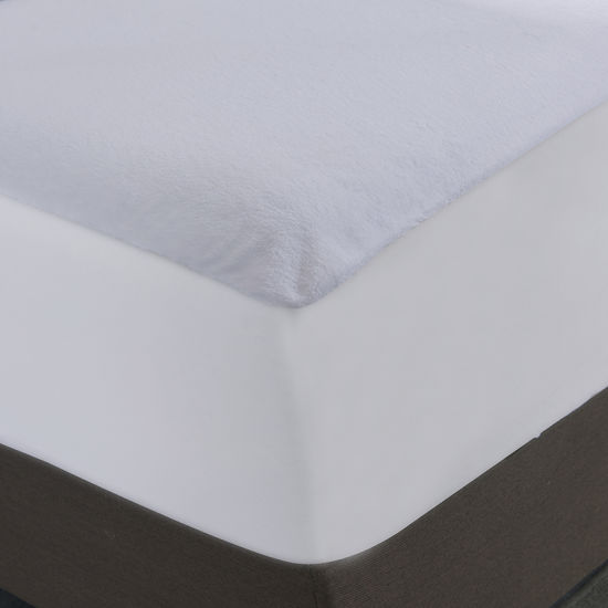 Coral Fleece Fabric with TPU Mattress Protecter