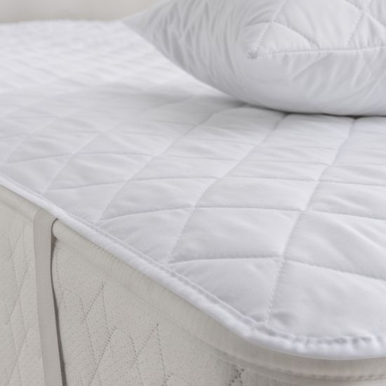 100% Organic Cotton Queen Size Waterproof Mattress Protector /Quilted
