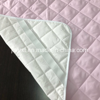 Cotton Fabric Quilted Polyester Filled Waterproof Mattress Pad