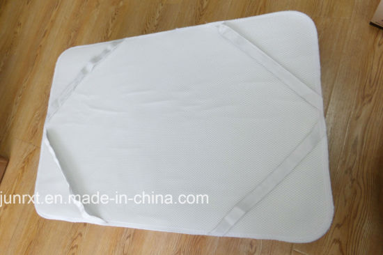 Mattress Protector Pad Bedding Antibacterial Anti Dust Mite Waterproof Home Textile