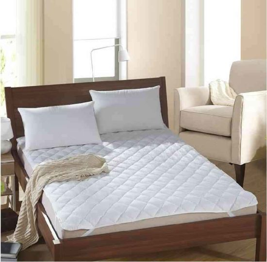 Waterproof Mattress Protector Cover Quilting Seam Hotel Bedding Fabric