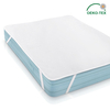 Terry Townel Waterproof Mattress Pad Hot selling 100% ployester knitted fabric laminated with TPU Waterproof Mattress Protector