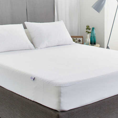 Cotton Terry Fitted Mattress Protector