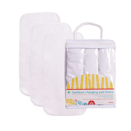 Hypoallergenic Bamboo Diaper Changing Liner Pad 3-Pack