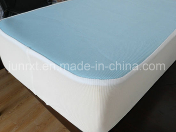 Wholesale 100%Cotton Loops Terry Waterproof Mattress Protector, Washable&Reusable, Anti-Bed Bug Mattress Cover, BSCI, Oeko-Tex100